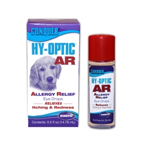 Conquer Hy-Optic AR Allergy Relief Eye Drops, 0.5 oz | VetDepot.com