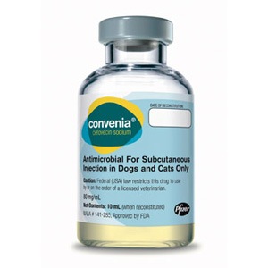 Covenia Injection for Dogs and Cats, 10 mL (cefovecin)