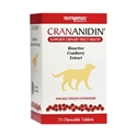 Crananidin for Dogs, 75 Chewable Tablets | VetDepot.com