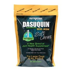 Dasuquin MSM Large Dog, 84 Soft Chews