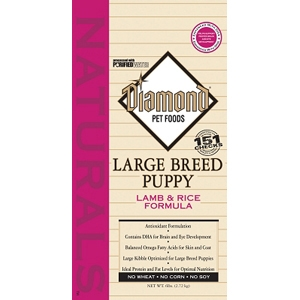 Diamond Naturals Large Breed Puppy Formula, 6 lb - 6 Pack
