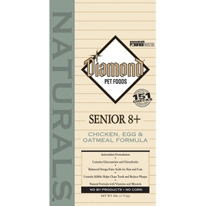 Diamond Naturals Senior 8+ Dog Formula, 6 lb - 6 Pack