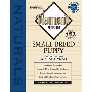 Diamond Naturals Small Breed Puppy Formula, 40 lb