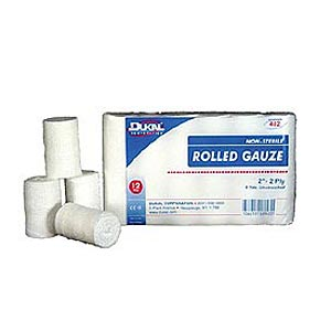 "Dukal 2"" Rolled Gauze 2 Ply - 12 Pack"