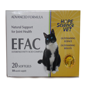 EFAC Joint Health for Cats, 20 Softgels | VetDepot.com