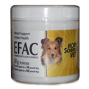 EFAC Joint Health Powder for Dogs & Cats, 50 gm | VetDepot.com