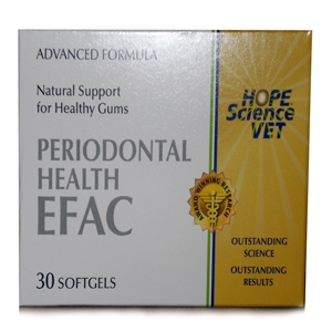 EFAC Periodontal Health for Dogs & Cats, 30 Softgels | VetDepot.com