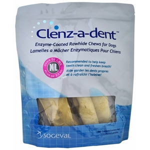 Enzymatic Rawhide Chews for Extra Large Dogs, 15 Chews | VetDepot.com