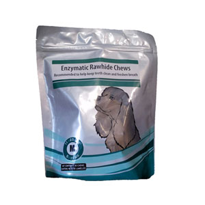 Enzymatic Rawhide Chews for Medium Dogs, 30 Chews | VetDepot.com