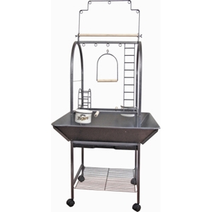 "EZ Care Activity Center Playground for Small Birds, 26"" x 24"" x 56"""