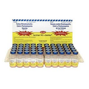 Fel-O-Vax Lv-K III + CaliciVax, 1 mL - 50 Pack