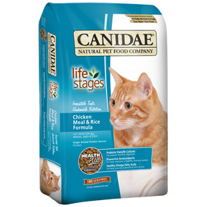 Felidae Chicken & Rice Cat Food, 4 lb - 9 Pack