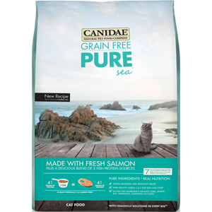 Felidae Pure Sea Cat Food, 4 lb - 9 Pack