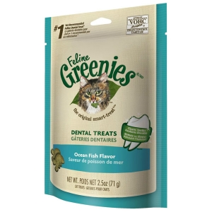 Feline Greenies Fish Flavor, 3 oz - 10 Pack