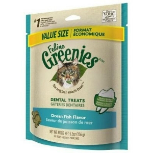 Feline Greenies Ocean Fish Flavor, 5.5 oz