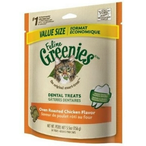 Feline Greenies Oven Roasted Chicken Flavor, 5.5 oz