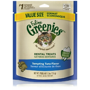 Feline Greenies Tempting Tuna Flavor, 5.5 oz