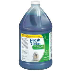 Fresh N Clean Snowy Coat Whitening Shampoo, 1 gal