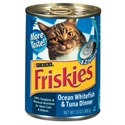 Friskies Classic Pate Ocean Whitefish & Tuna Dinner, 13 oz - 24 Pack
