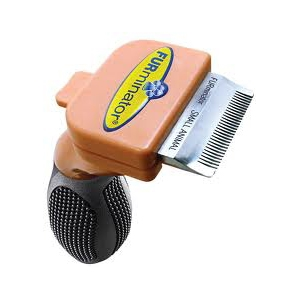 "FURminator deShedding Tool For Small Animals, 1.25"" Edge"