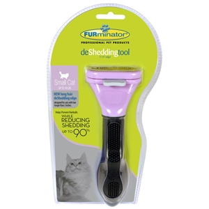 "FURminator deShedding Tool For Small Cats, 1.75"" Long Hair Edge"