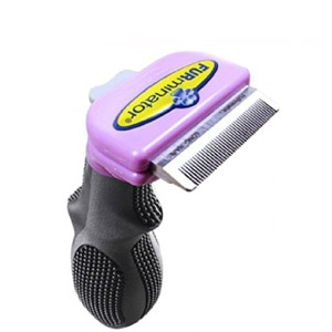 "FURminator deShedding Tool For Small Cats, 1.75"" Short Hair Edge"