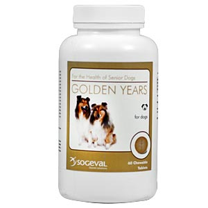 Golden Years Multivitamin, Mineral, & Antioxidant for Senior Dogs, 60 Chewable Tablets