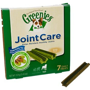 Greenies JointCare Treats for Large Dogs, 7 ct | VetDepot.com