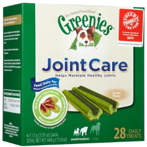 Greenies JointCare Treats for Small/Medium Dogs, 28 ct | VetDepot.com