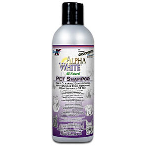 Groomer's Edge Alpha White Shampoo, 8 oz