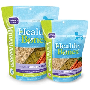 Healthy Bones Lamb, Quinoa & Carrot Dog Treats, 8 oz - 12 Pack