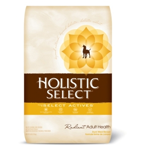 Holistic Select Dog Food Duck & Oatmeal, 30 lb