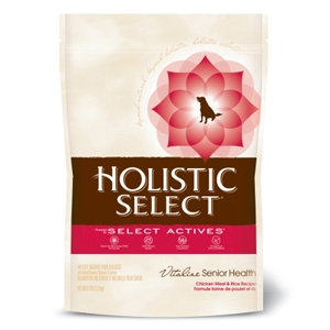 Holistic Select Senior Dog Food, 6 lb - 6 Pack