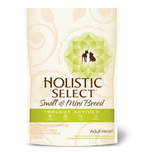 Holistic Select Small Breed Dog Food Anchovy & Chicken, 3 lb - 6 Pack