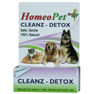 HomeoPet Cleanz Detox, 15 mL
