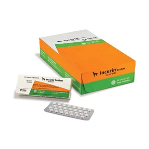 Incurin (Estriol) 1 mg, 30 Tablets | VetDepot.com