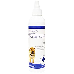 Ketoseb +PS Spray, 8 oz