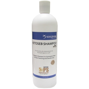 Ketoseb Shampoo +PS, 16 oz