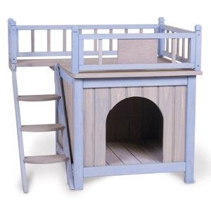 "King's Kastle Dog House, 28.25"" x 25.5"" x 21.5"""