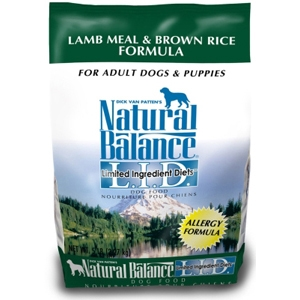 Lamb & Rice Formula Dog Food, 5 lb - 6 Pack