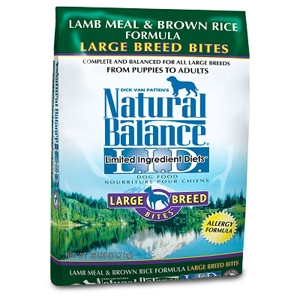 Large Breed Bites Lamb & Rice Dog Food, 28 lb