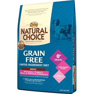 Natural Choice Grain Free Dog Food Turkey & Potato, 14 lb