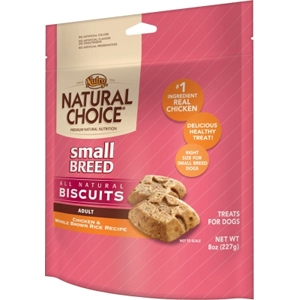 Natural Choice Small Breed Dog Treats, 8 oz - 8 Pack