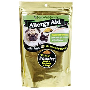 NaturVet Allergy Aid Powder, 9 oz