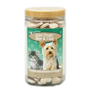 NaturVet Love Drops, 200 Chewable Tablets