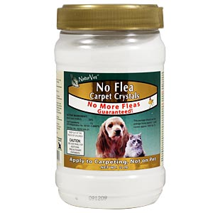 NaturVet No Flea Carpet Crystals for Cats, 2 lbs