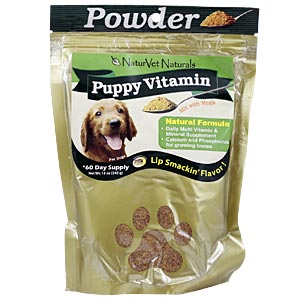 NaturVet Puppy Vitamin Powder, 12 oz