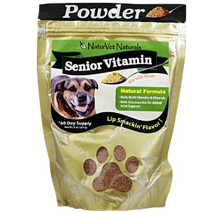 NaturVet Senior Vitamin Powder, 9 oz