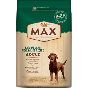 Nutro Max Dog Food Lamb & Rice, 30 lb