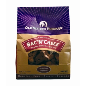 Old Mother Hubbard BacNCheez Large Dog Biscuits, 3.3 lb - 4 Pack